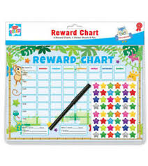 Details About Re Usable Behaviour Reward Chart Including Free Stickers And Pen Animal