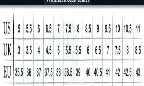 Converse Conversion Chart Converse Youth Size Chart
