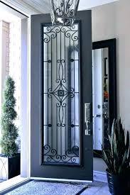 faux wrought iron window inserts diy
