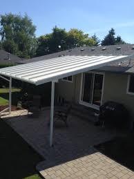 free standing aluminum patio cover. Exellent Cover Patio Cover Deck Build A Free Standing To Aluminum F