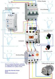 contactor wiring three phase contactor image control wiring diagram of 3 phase motor wiring diagram on contactor wiring three phase