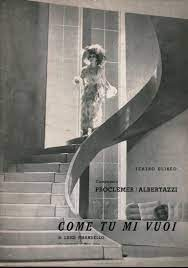Come tu mi vuoi - Luigi Pirandello - Teatro - Spettacolo - Libreria -  dimanoinmano.it