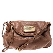 marc jacobs brown leather classic q natasha cross bag nextprev prevnext