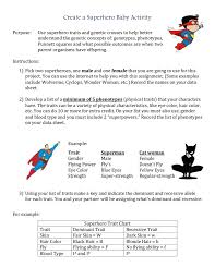 Create A Superhero Baby Activity Purpose To Apply Your