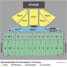 69 True Minnesota State Fair Grandstand Seating