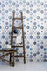 Studio Ditte Behang Dat Je Muur Tot Leven Brengt Blauw Blauw