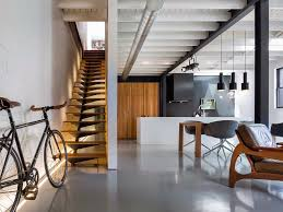 General: Dramatic Black Stairs - Interior Architecture