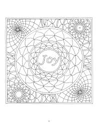 Small Picture Mandalas Coloring Book