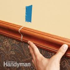chair rail. How To Install A Chair Rail