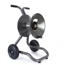 eley portable garden hose reel 2 wheel cart