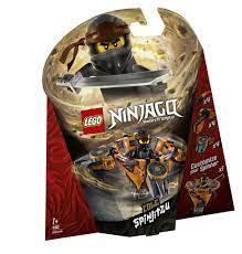 LEGO® NINJAGO Spinjitzu Cole, 70662 LEGO®