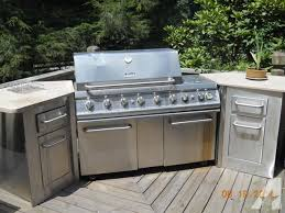 kenmore elite grill island. kenmore elite grill - propane with granite counter tops island