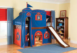 bunk bed with slide. Brilliant With Attractive Bunk Beds With Slide Ideas On Bed