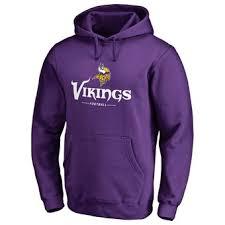 Nfl Fanatics Hoodies Minnesota Fleece Pullovers com Nflshop Line Sweatshirts Vikings Official Branded Pro By