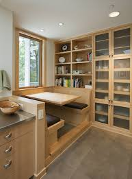 Kitchen Nook How To Build A Breakfast Nook Small Galley Kitchen With Island