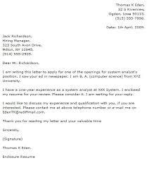 Program Analyst Cover Letter Rome Fontanacountryinn Com