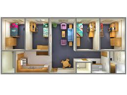 building floor plan pdf 4 bedroom floor plans 2d 3d top