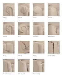 sofa arm styles