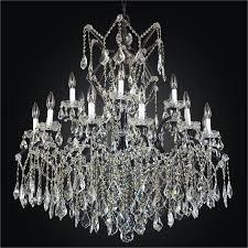 large chandelier old world iron 543ad19lcb 3c
