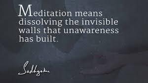Meditation Quote Sadhguru's Quotes on Meditation Isha Sadhguru 6