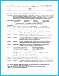Entry Level Office Assistant Resumes In Writing Entry Level Administrative Assistant Resume You Need To