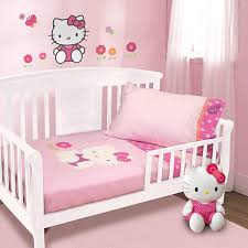 hello kitty bed furniture. Hello Kitty Garden 5 Piece Baby Crib Bedding Set Bedroom Dream Furniture Bed I
