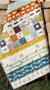 Quilts, Handmade, Woodland Baby Quilt, Baby Blankets, Woodland ... & Quilts, Handmade, Woodland Baby Quilt, Baby Blankets, Woodland Blanket,  Crib Quilt for Boys, Camping, Camping Quilt, Cot Rustic Baby Bedding Adamdwight.com