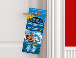 Door Hanger Design Template Adorable Custom Door Hangers Door Hanger Printing Offset Printing Think Pro