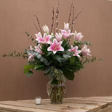 luscious lilies bouquet