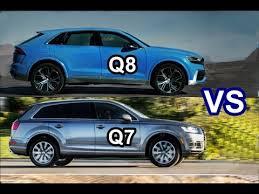 2018 audi q8. interesting audi 2018 audi q8 vs 2017 q7  drive interior exterior on audi q8