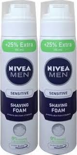 <b>Nivea Men</b> Sensitive <b>Ultra</b> Glide Shaving Foam (2 x 250ml) Price in ...