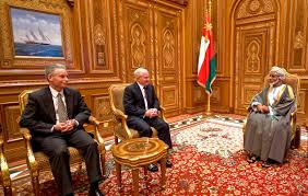 u s department of defense photo essay u s defense secretary robert m gates talks i sultan qaboos at the bait al