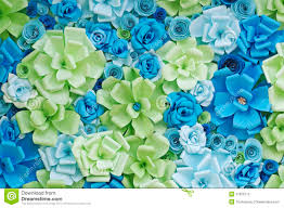 Paper Flower Background Paper Flowers Background Stock Image Image Of Blue Colorful 37920773