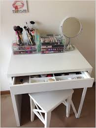 re imagine ikea micke office table as a makeup vanity table diy makeup vanity table