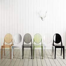 kartell victoria ghost chairs