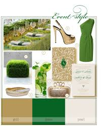 green and gold wedding colors - Google Search