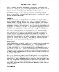 strengths and weaknesses examples 33 swot analysis examples samples