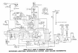 bf falcon wiring diagram wiring diagram schematics baudetails info ford b f t series trucks 1964 interior lighting windshield 57 65 ford wiring diagrams