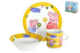 Набор посуды <b>Коралл</b> B131-A06836 <b>Peppa Pig</b> 1/3