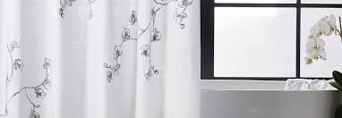 Shower curtains Rustic Michael Aram Shower Curtains Bath Living