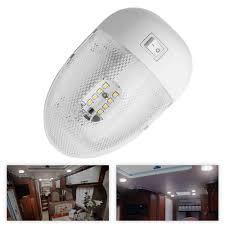 12 Volt Ceiling Lights For Rv 1x Rv Led 12v 2w Fixture Ceiling Camper Trailer Marine Single Dome Light 12 Volt