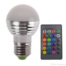 Changing Halogen Flood Light Bulbs Led E27 Bulb Color Changing Night Light Wholesale Christmas 3w Rgb Dimmable Lamps Party Spotlight Flood Lights T10 Led Bulb Led Flood Light Bulbs From