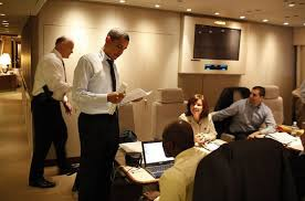 air force 1 office. the air force one is obamau0027s office in sky with teleconferencing facilities as well space for his advisers photograph getty images 1