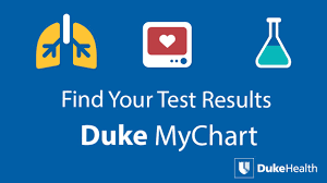 Duke My Chart App View Your Test Results