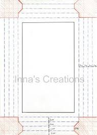 Paper Picture Frame Templates Innas Creations How To Make A Simple Paper Frame Craft Ideas