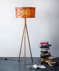 handmade lighting design. Handmade Veneer Lighting - Floor Lamp By Ariel Zuckerman Design T