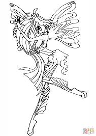 Ausmalbild Sirenix Bloom Ausmalbilder Kostenlos Zum Ausdrucken