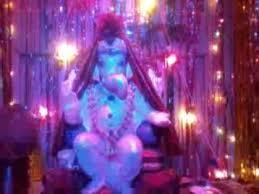 my home ganpati lighting decoration youtube