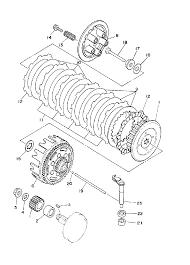 1995 yamaha yz80 yz80g1 clutch parts best oem clutch parts diagram rh bikebandit 2003 yamaha