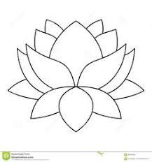 lotus flower outline drawing lotus flower outline drawing lotus flower icon outline style